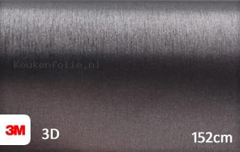 3M 1080 BR201 Brushed Steel keukenfolie