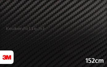 3M 1080 CFS12 Carbon Fiber Black keukenfolie