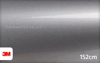 3M 1080 G251 Gloss Sterling Silver keukenfolie