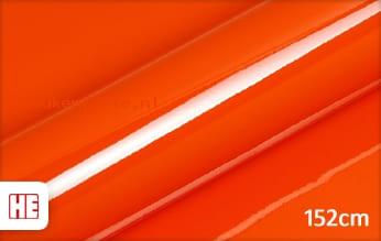 Hexis HX20165B Mandarin Red Gloss keukenfolie