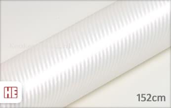 Hexis HX30CABPEB Carbon Pearl White Gloss keukenfolie
