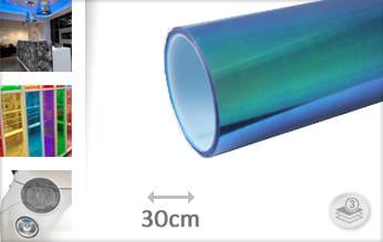 Flipflop blauw transparant keukenfolie