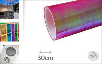 Flipflop roze transparant keukenfolie