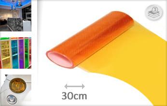 Oranje transparant keukenfolie