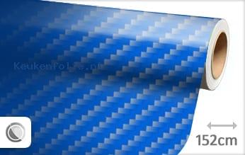 Blauw 2D carbon keukenfolie
