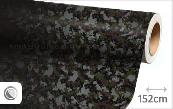 Camouflage digitaal keukenfolie