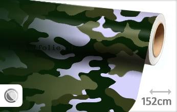 Camouflage groen keukenfolie