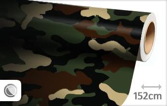 Camouflage leger keukenfolie