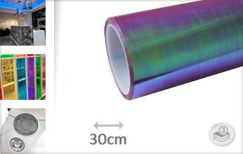 Flipflop paars tint keukenfolie