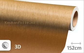 Geborsteld aluminium goud keukenfolie