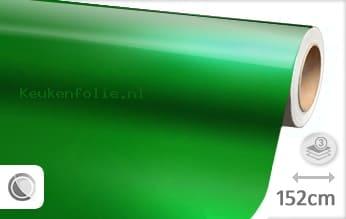 Glans metallic groen keukenfolie