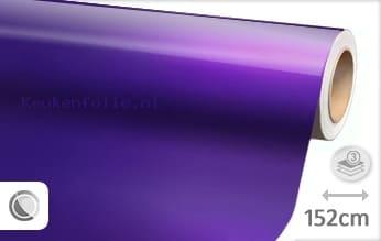 Glans metallic paars keukenfolie