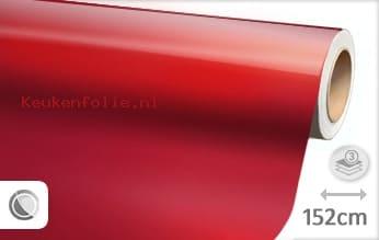 Glans metallic rood keukenfolie