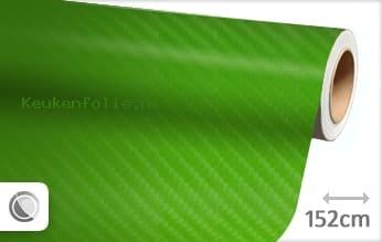 Groen 4D carbon keukenfolie