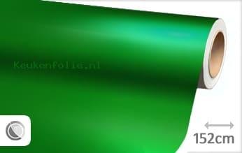 Mat chroom groen keukenfolie