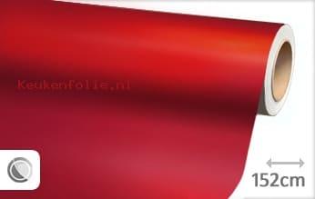 Mat chroom rood keukenfolie