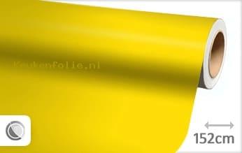 Mat geel keukenfolie