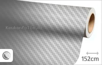 Zilver 3D carbon keukenfolie