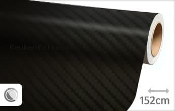 Zwart 4D carbon keukenfolie