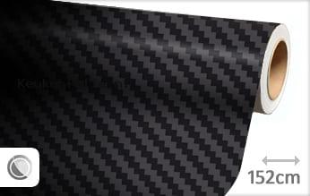 Zwart 3D carbon groot keukenfolie